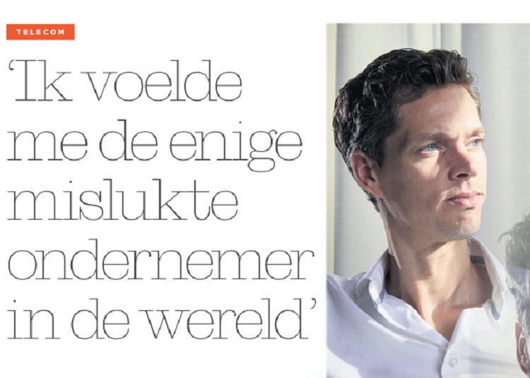 Artikel Financieel Dagblad Arthur Tolsma
