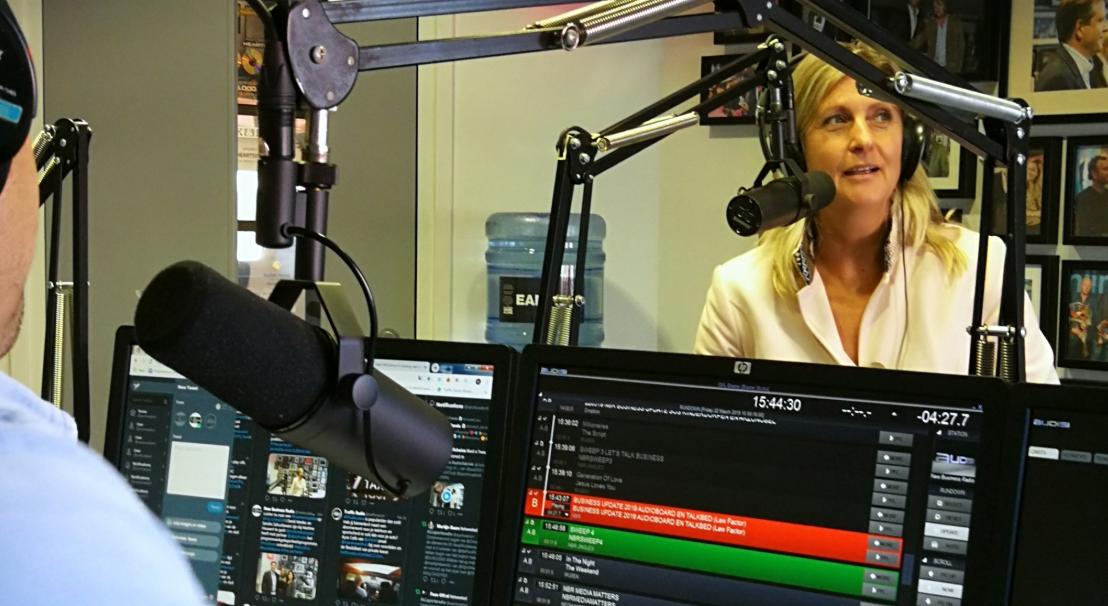 Jacqueline Zuidweg van MKBDoorgaan.nl bij New Business Radio
