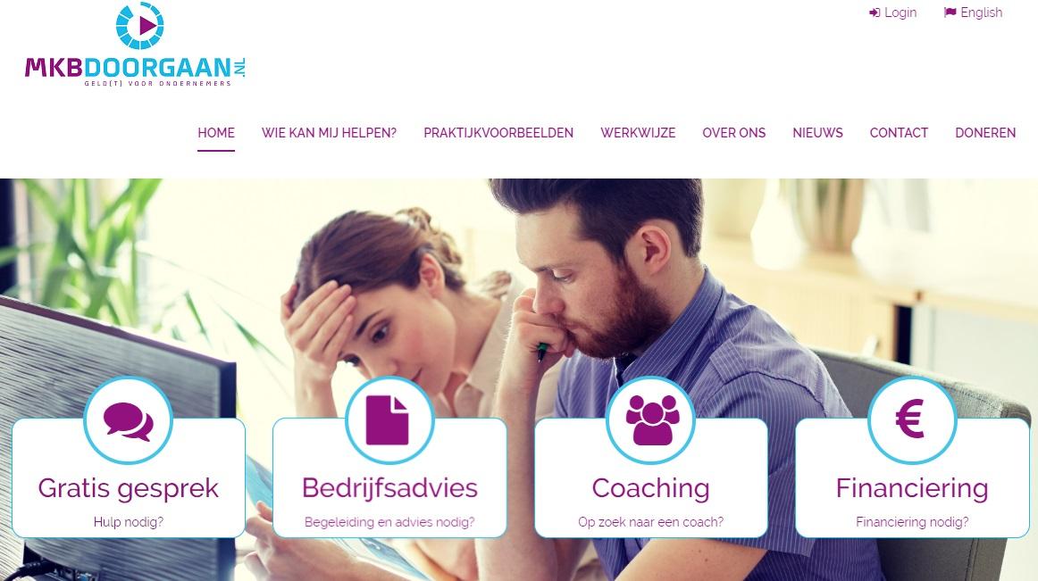 Nieuwe website MKBDoorgaan.nl