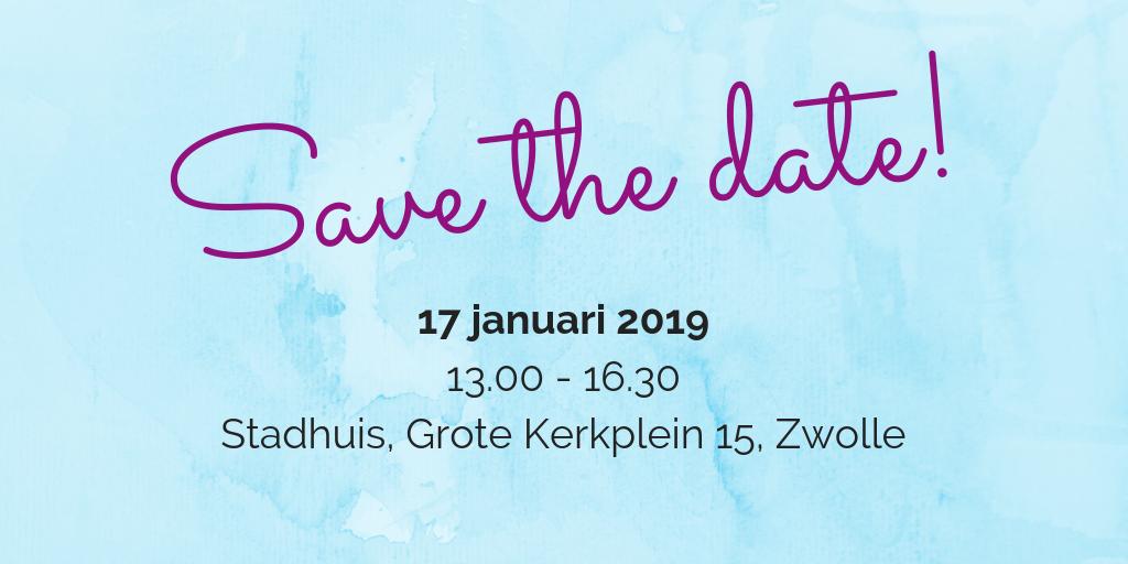 Save the Date 17 januari 2019